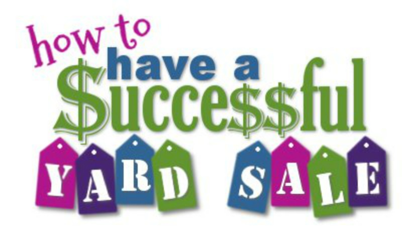 My Tips for a GREAT Yard Sale