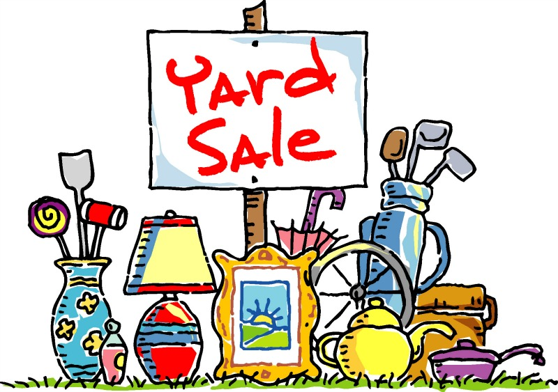 Having a Yard Sale?